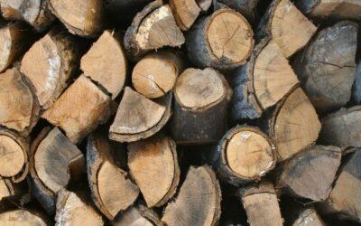 Conservación y ventilación de leña y madera